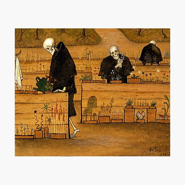 Hugo Simberg - The Garden of Death Photographic Print