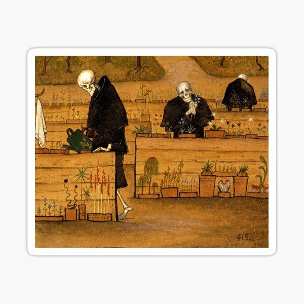 Hugo Simberg - The Garden of Death Sticker