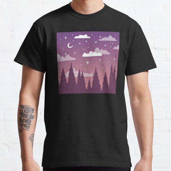 Purple Pine Sunset Classic T-Shirt