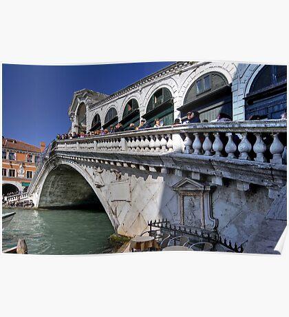 Rialto Bridge - Venice Poster