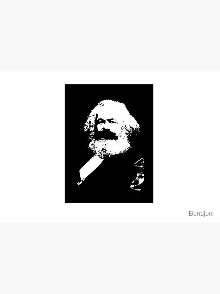 Karl Marx by Bundjum