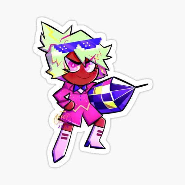 firecracker cookie's fantabulous neon party Sticker
