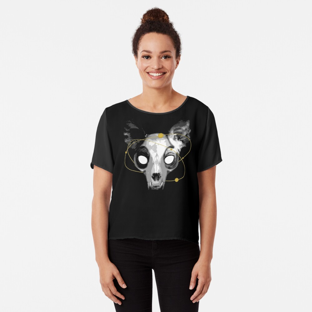 The Lord of Death Chiffon Top