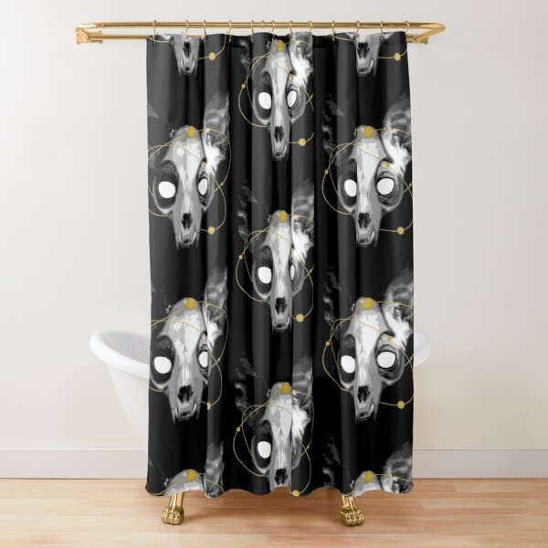 The Lord of Death Shower Curtain