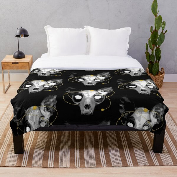 The Lord of Death Throw Blanket