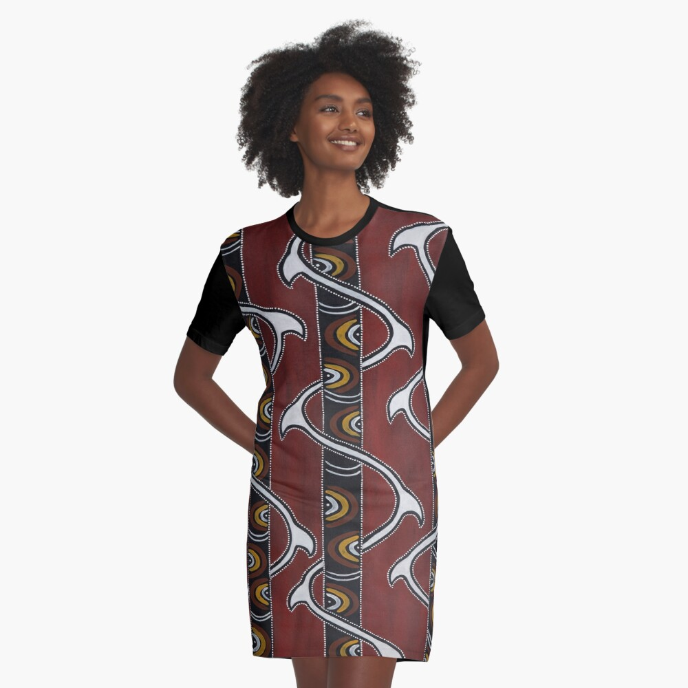 Bukal Graphic T-Shirt Dress