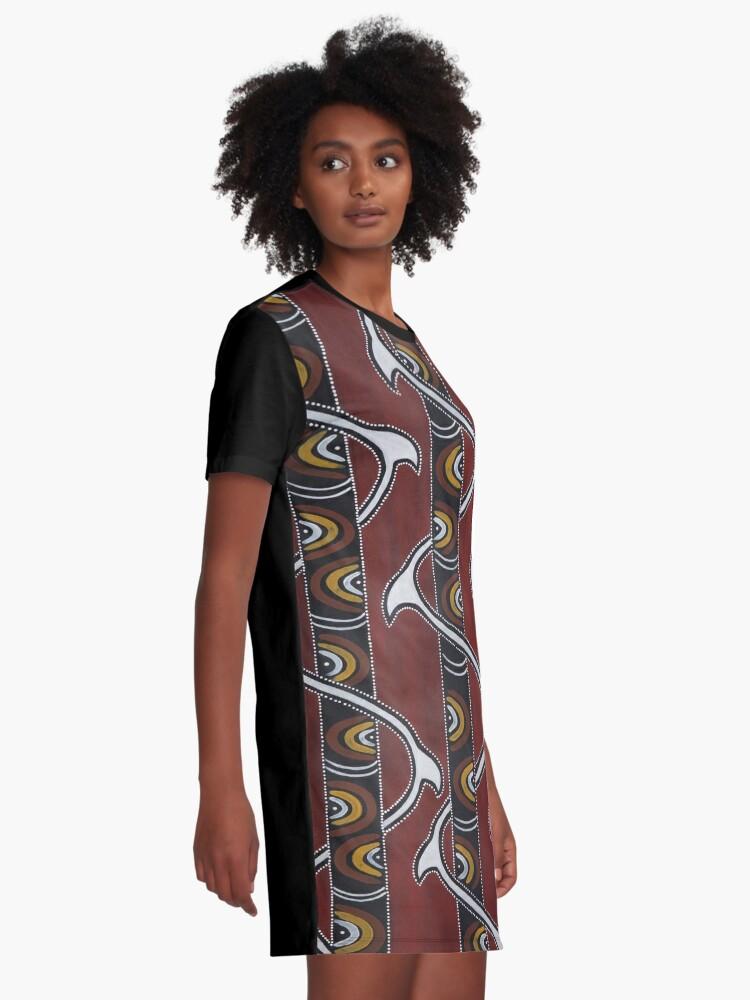 Alternate view of Bukal Graphic T-Shirt Dress