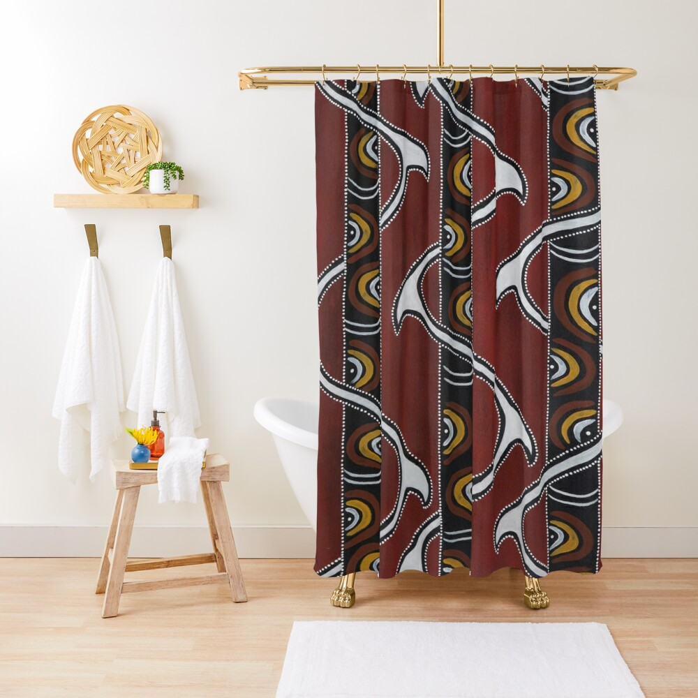 Bukal Shower Curtain