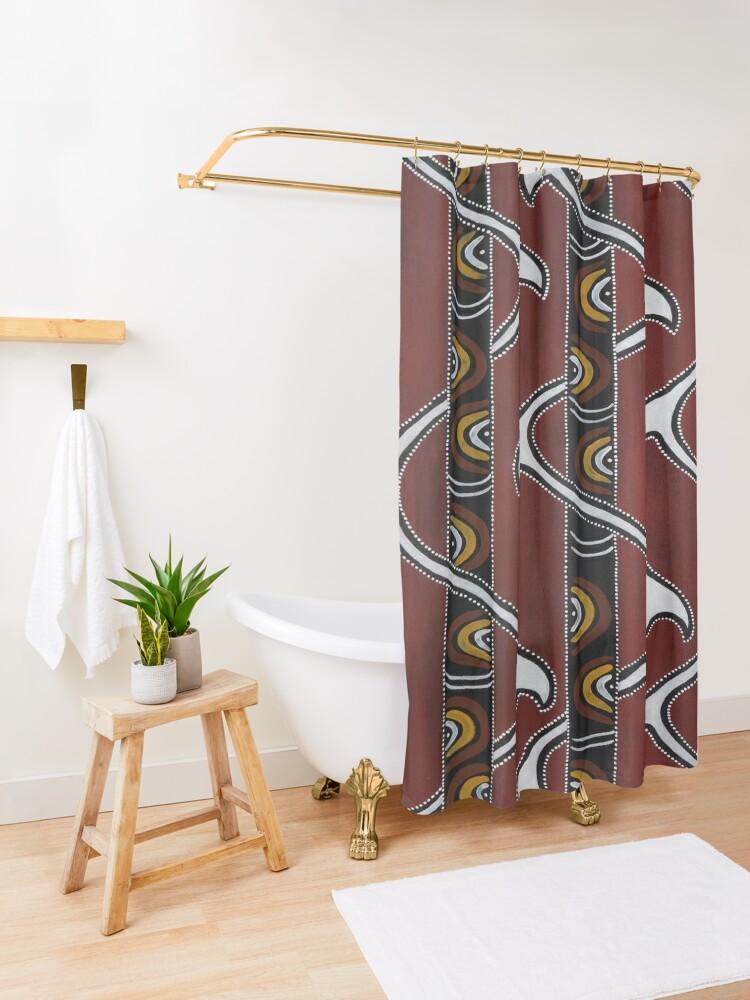 Alternate view of Bukal Shower Curtain