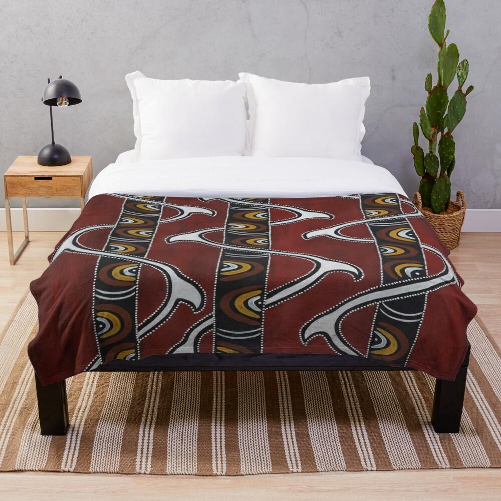 Bukal Throw Blanket