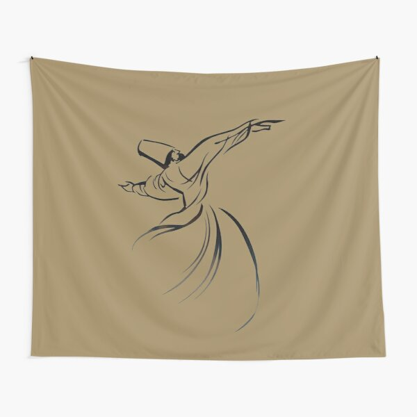 Sufi Meditation Embracing Humanity With Love Tapestry