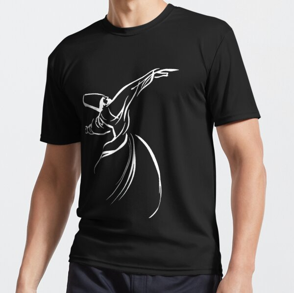 Dervish Embracing Humanity With Love Active T-Shirt
