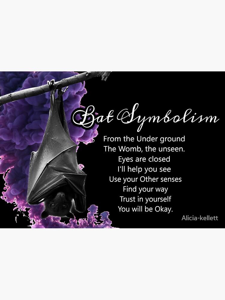 Bat Symbolism by Alicia-kellett