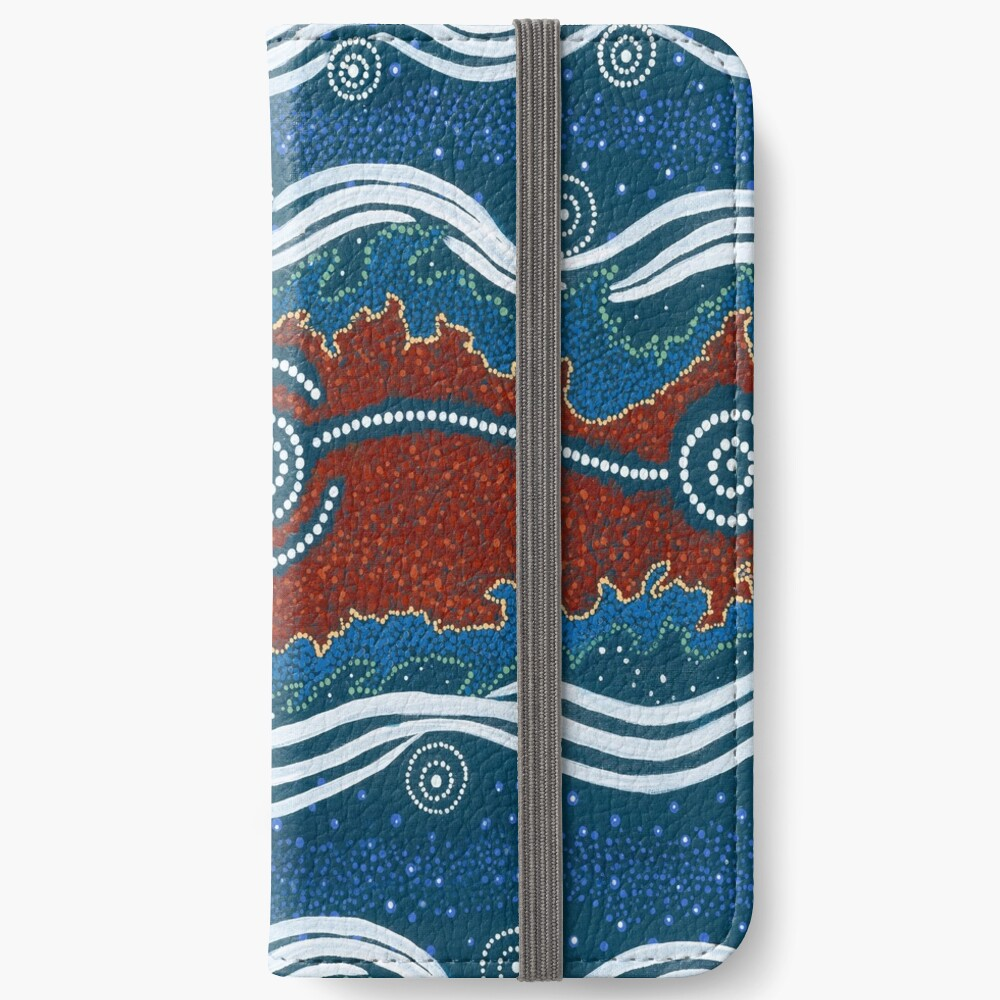 3 Lore / Creation Story iPhone Wallet