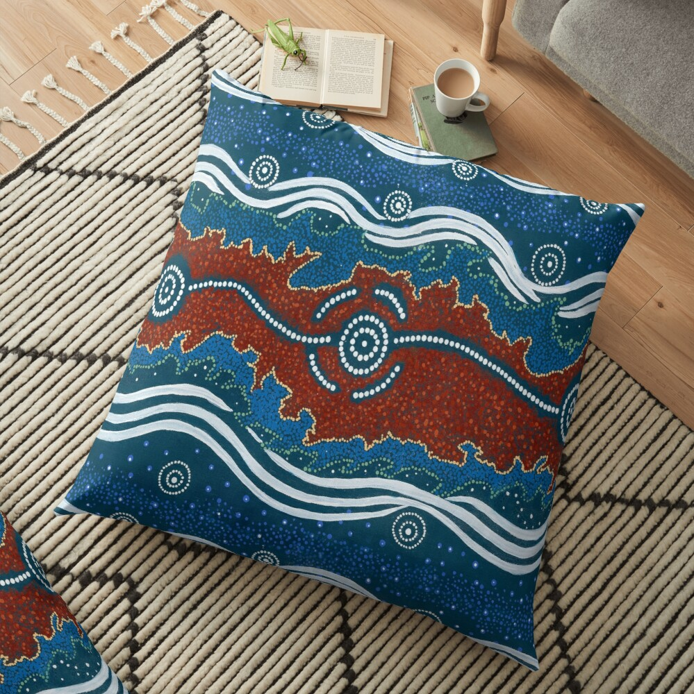 3 Lore / Creation Story Floor Pillow