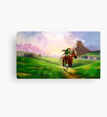 Zelda! Canvas Print