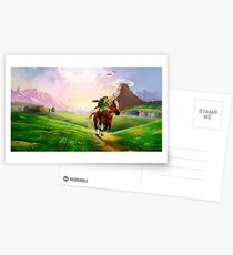 Zelda! Postcards