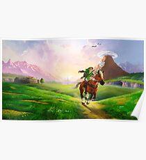 Zelda! Poster