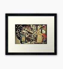 It Came From Four Floors Below. Framed Print