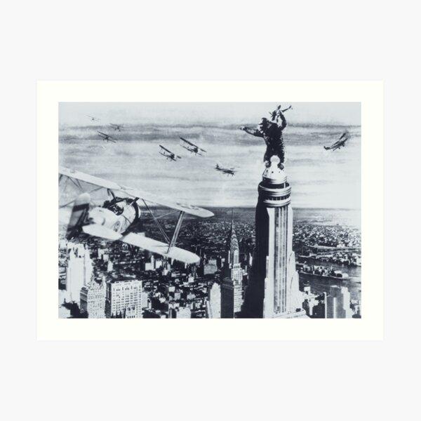 King Kong 1933 Kunstdruck