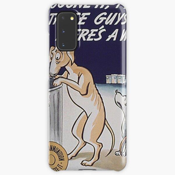 Vintage Doggone It, Fellows WW2 Food Poster Samsung Galaxy Snap Case
