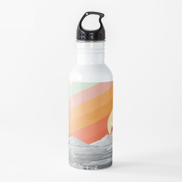 Screaming Sun (Rick & Morty) Water Bottle