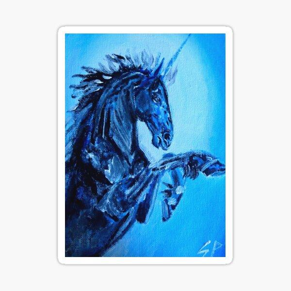 Dark Unicorn Sticker