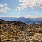 Twenty Mule Team Canyon - Death Valley by James Anderson