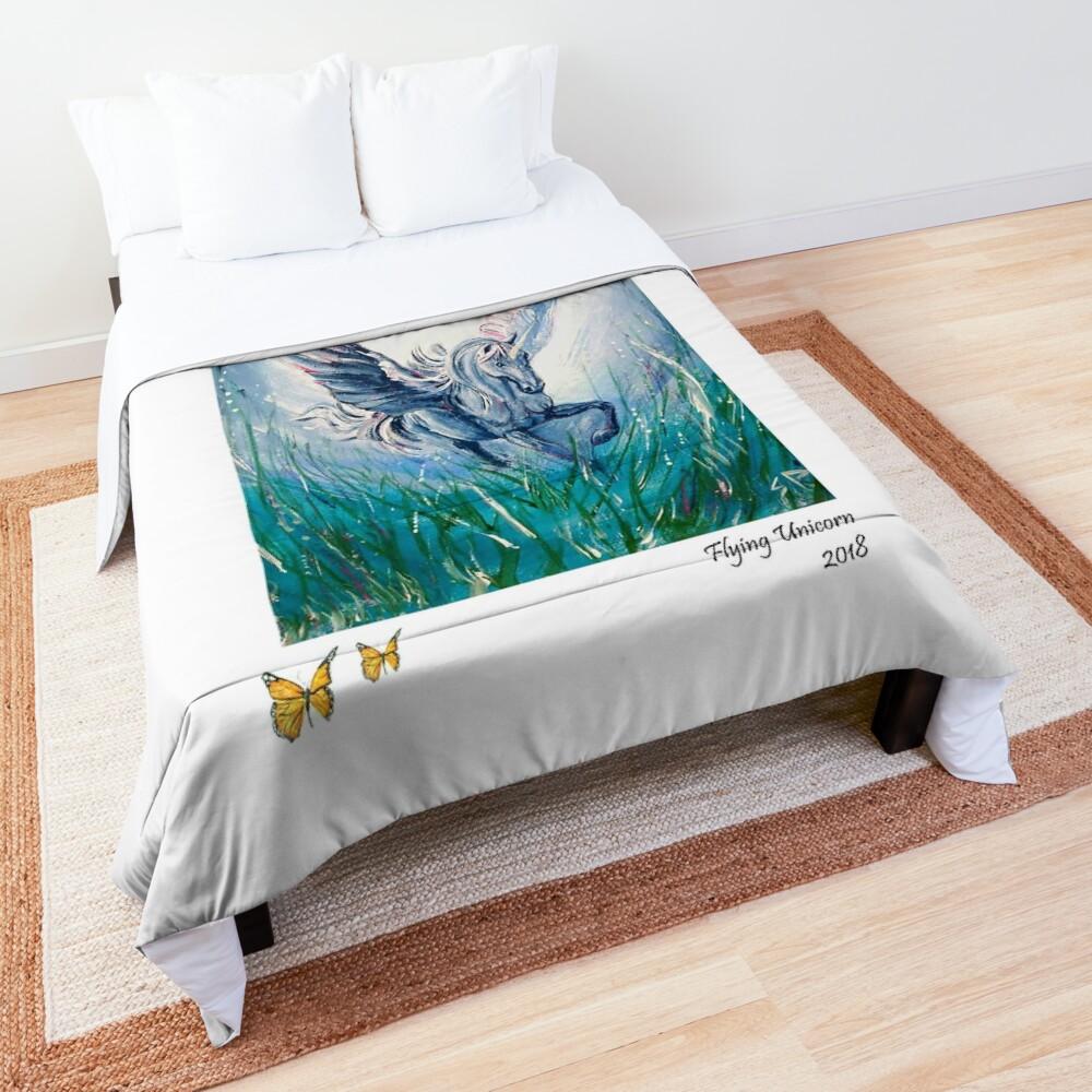 Flying Unicorn Comforter