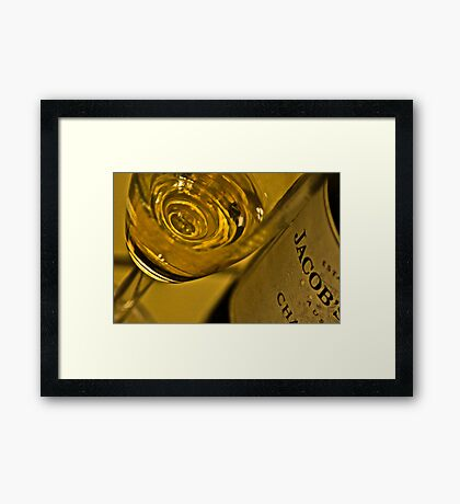 Wine & DOF: On Featured: The-artistic-libation Group Framed Print