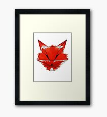 Cunning Fox Framed Print