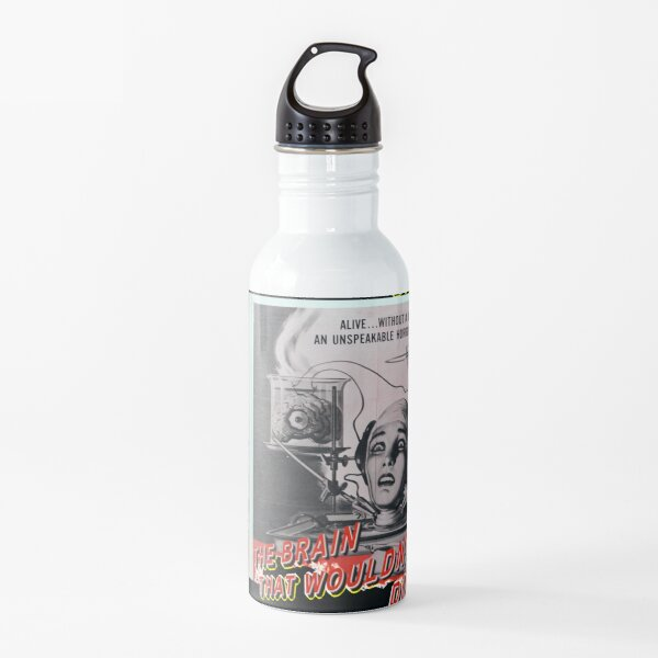 vintage horror science fiction movie poster Water Bottle