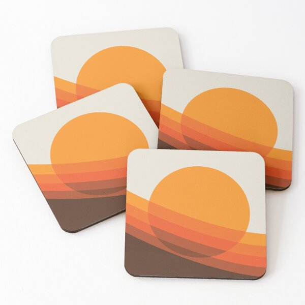 Rebirth Of The 70's No. 24 Coasters (Set of 4)