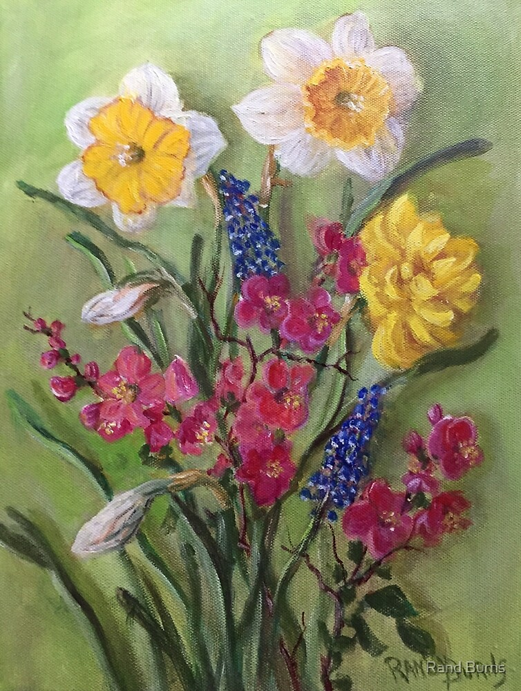 Spring Flowers by Randy Burns
