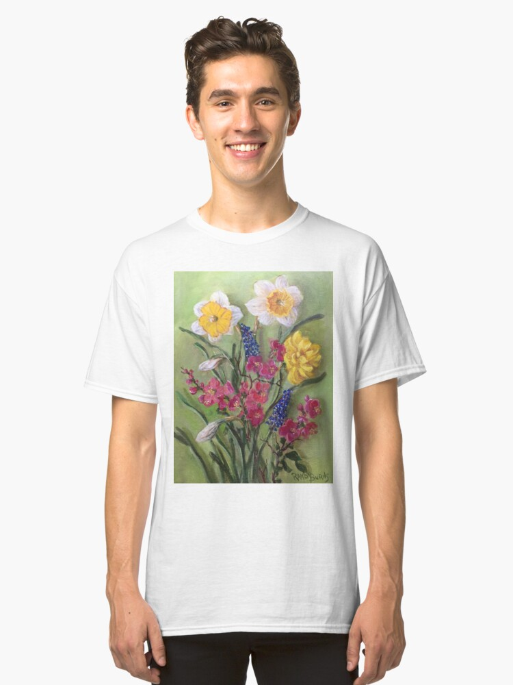Spring Flowers Classic T-Shirt Front