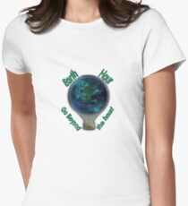 Earth Hour Women's Fitted T-Shirt