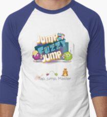 Jump Fuzzy Jump Men's Baseball ¾ T-Shirt