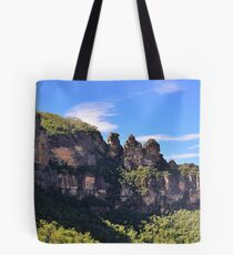 Blue Mountain Icons Tote Bag