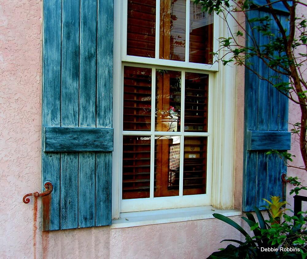 Window + Rust = ART by Debbie Robbins