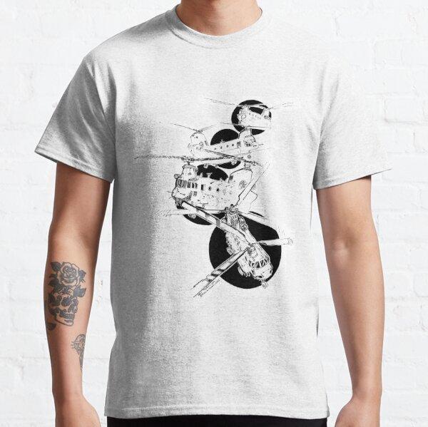 La folle chevauchée des Hélicos T-shirt classique