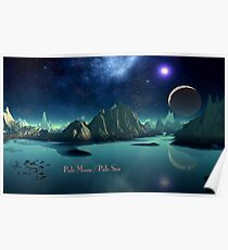 Pale Moon / Pale Sea Poster