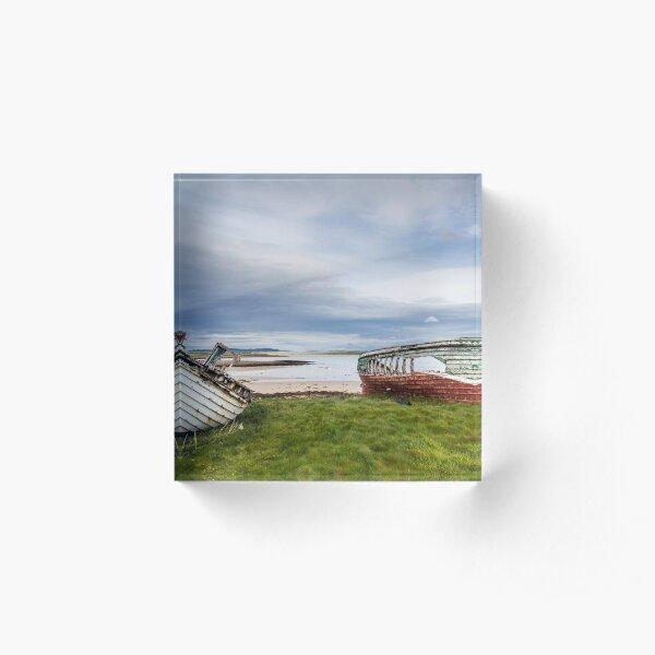 Magheraroarty Boats Acrylic Block