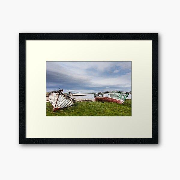 Magheraroarty Boats Framed Art Print