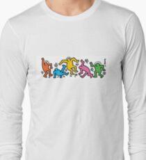 Keith Haring People Long Sleeve T-Shirt