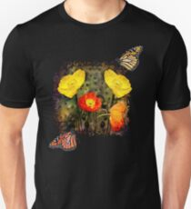 Yellow and Red Poppies T-Shirt