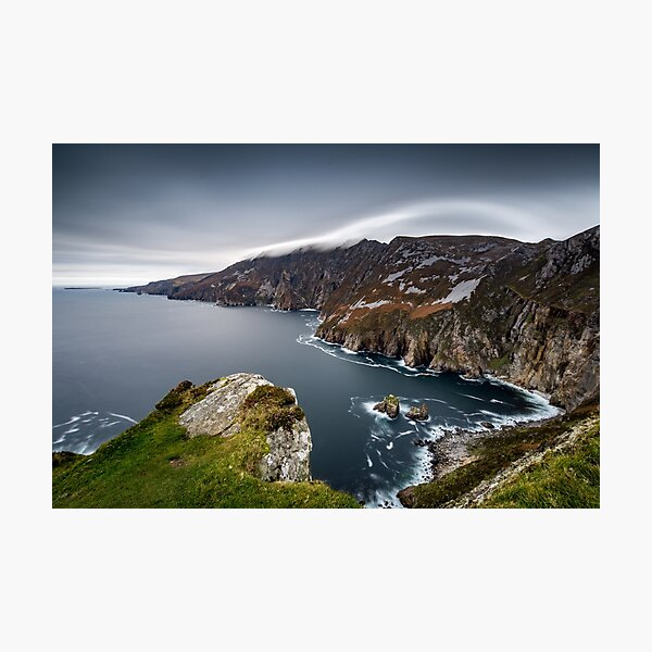 Slieve League County Donegal Ireland Landscapes Photographic Print