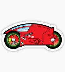 Kaneda's Lightcycle Sticker