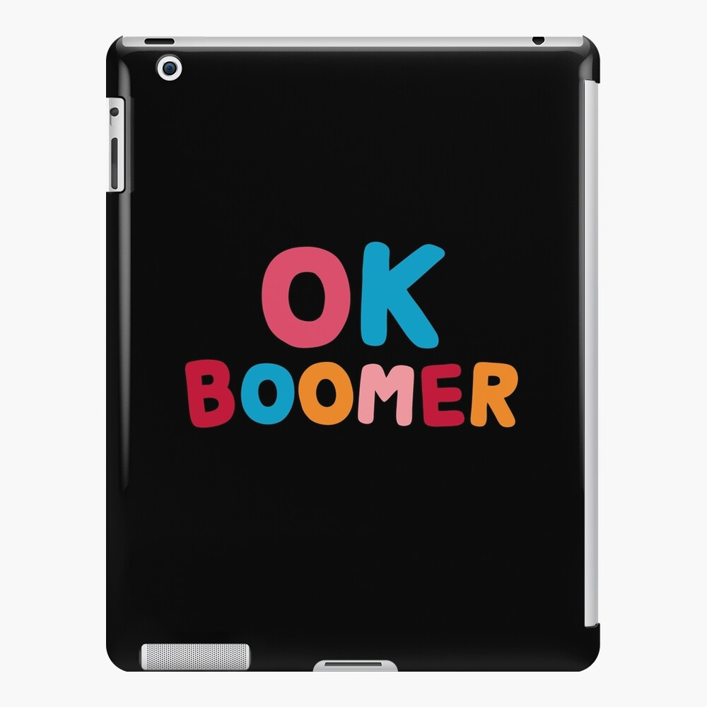Ok boomer iPad Snap Case