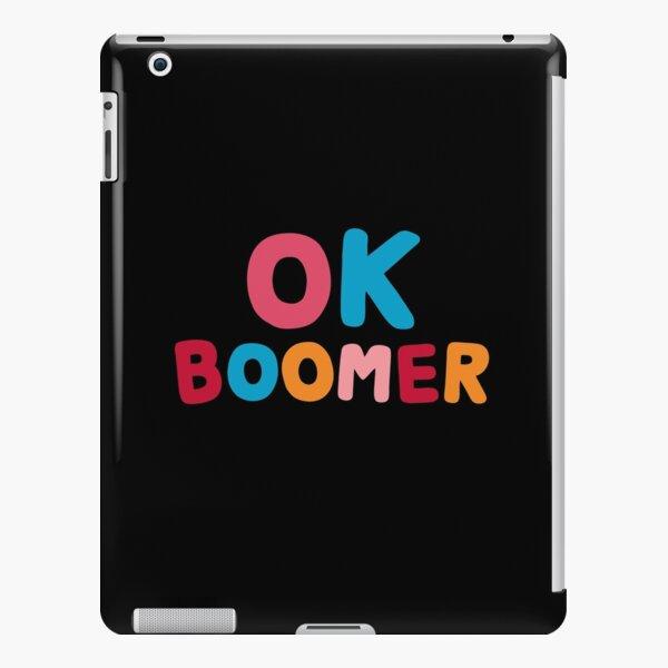 Ok boomer iPad Snap Case