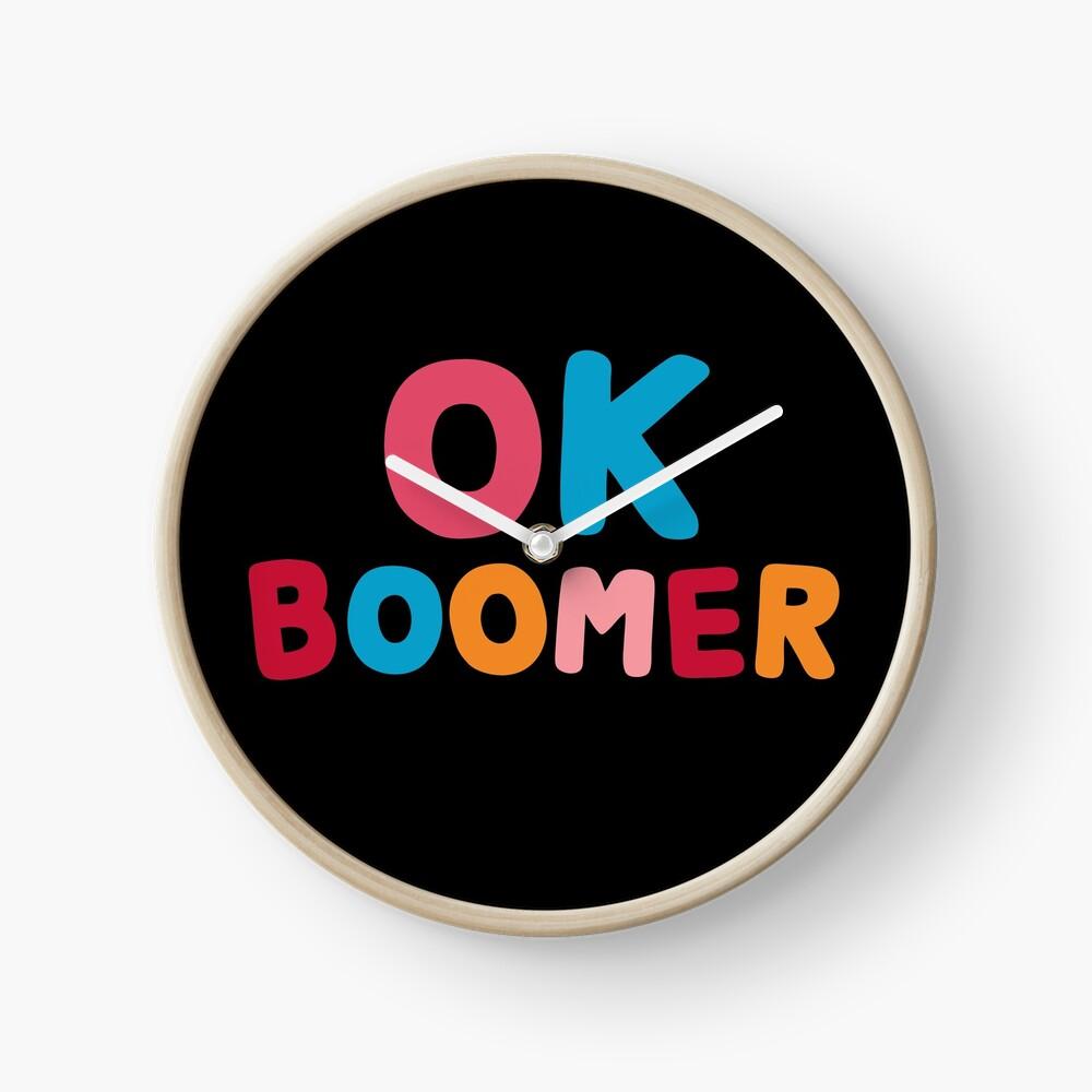 Ok boomer Clock